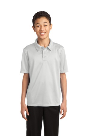 Port Authority Youth Silk Touch Performance Polo. Y540